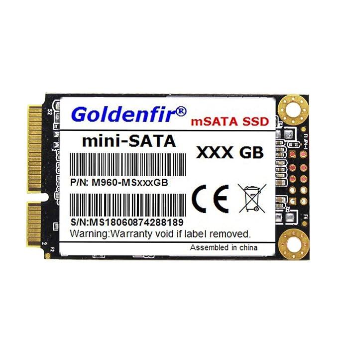 MeterMall Unidad de Estado sólido Msata SSD SATAIII HD SSD para ...