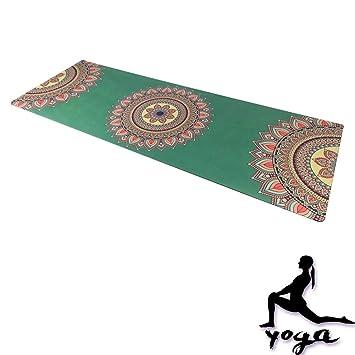 WYQWAN Estera De Yoga: Antideslizante, Absorbe El Sudor ...