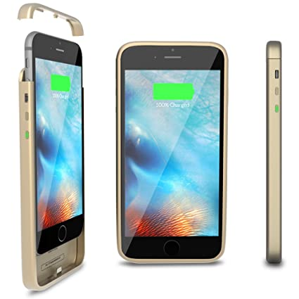 online retailer c5d5a 93013 ThinCharge: World's Thinnest iPhone 6 / 6S Battery Case [Gold ...