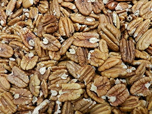 Raw Mammouth Pecan Halves 80 oz by OliveNation