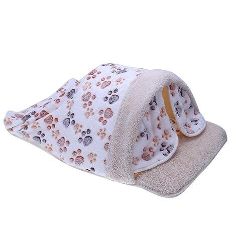 Broadroot Jaula de Perro Saco de Dormir para Gatos Jaula de cojín para Perros Caliente