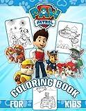 Paw paw patrol coloring book