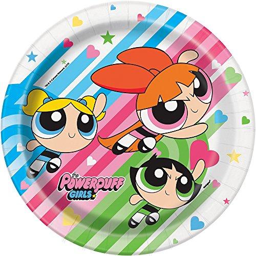 Powerpuff Girls Dinner Plates, 8ct -
