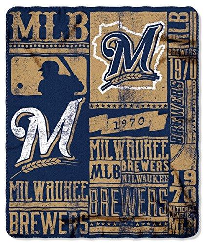 Milwaukee Brewers Team Fleece - Milwaukee Brewers 50x60 Fleece Blanket - Strength Design