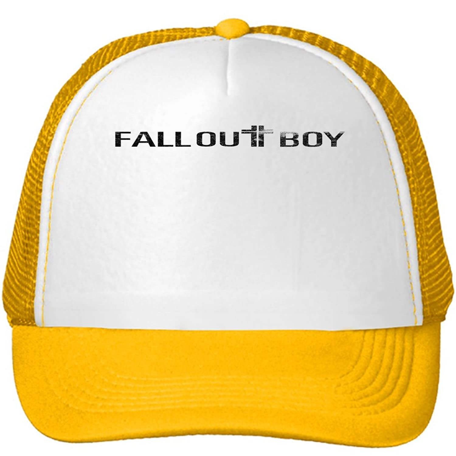 Fall Out Boy Mesh Snapback Trucker Hats Caps