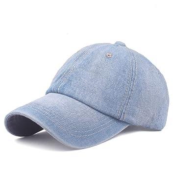 Gorra de béisbol lavada S Hombres Mujeres Tendencia Personalidad ...