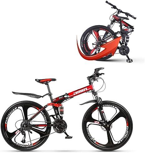 OQJUH Cuadro de suspensión Completa para Bicicleta de montaña ...