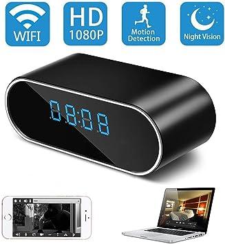 HD 1080P Spy IP Wireless Mini Camera WiFi Hidden Video Recorder Security Clock