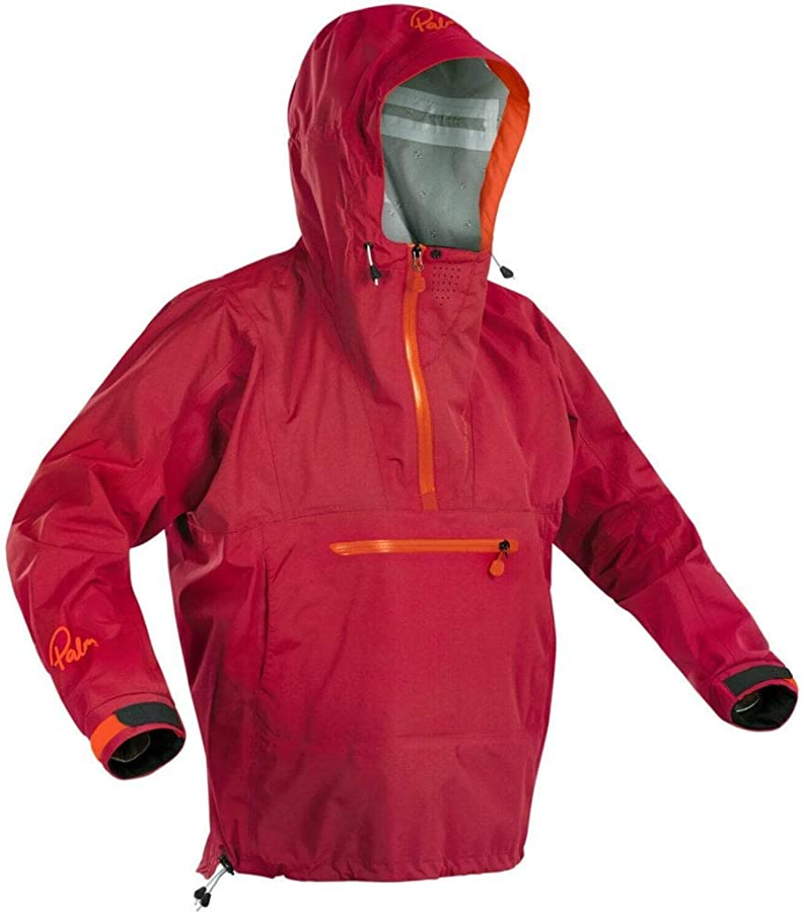 Palm Kayak or Kayaking Drop rear hem protects when standing or seated Chilli Mens Vantage Kayak Coat Jacket