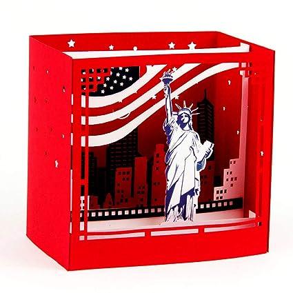 Tarjetas Cumpleaños Pop up 3D Paper Spiritz Tarjeta ...
