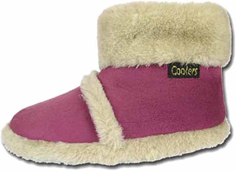Coolers Womens House Boot Slippers Black Tall Winter Fleece Warm Snug UK 3-8 New