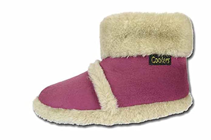 fb54678f90b Cooler Ladies Girls Children s Slipper Boots Winter Ankle Slippers Fur Trim  New  Amazon.co.uk  Shoes   Bags