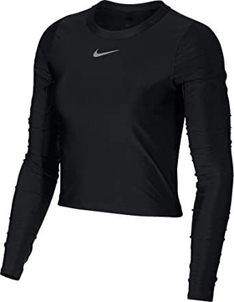 a1fe7ca9262de6 Amazon.com  Nike Women s Speed Long Sleeve Running Top  Clothing
