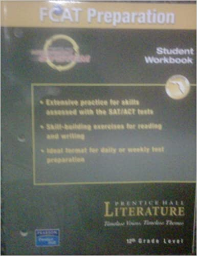 FCAT Preparation Student Workbook 12th Grade Level