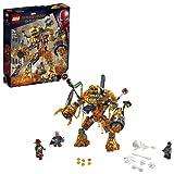 レゴ(LEGO) スーパー・ヒーローズ モルテンマンの戦い 76128 マーベル スパイダーマン