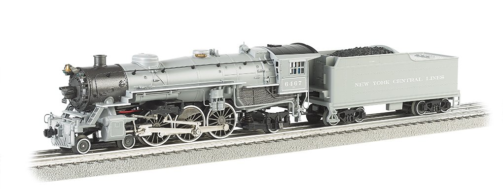 Williams by Bachmann 462 Pacific  New York Central  6467 Train (O Scale)