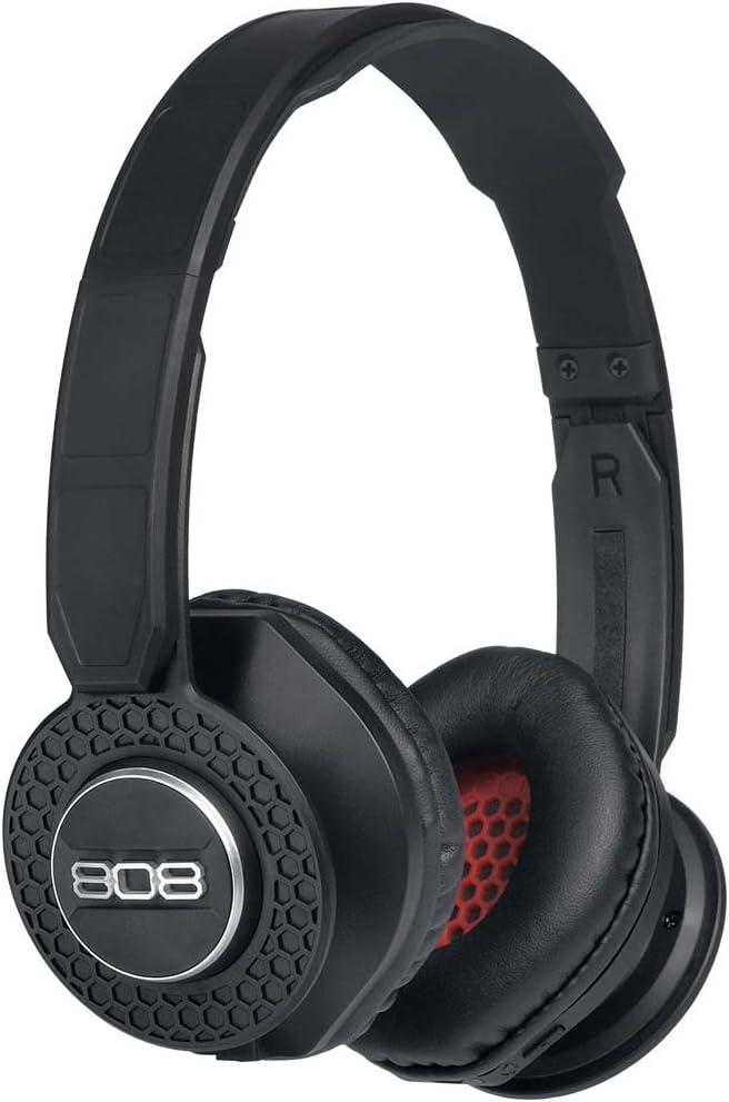 808 Audio SHOX On-The-Ear Bluetooth Headphones - Black HPA150BK