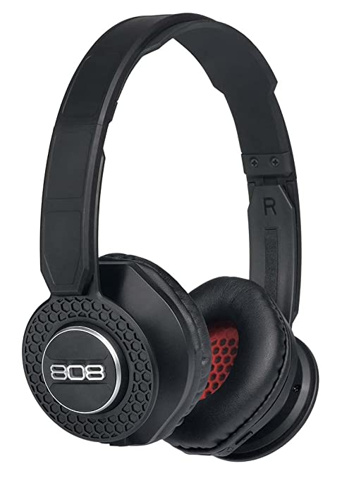 d40f4d8c87a Amazon.com: 808 Audio SHOX On-The-Ear Bluetooth Headphones - Black  HPA150BK: Home Audio & Theater