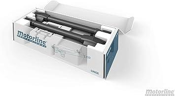 Kit completo motor electromecánico puertas batientes de doble hoja Motorline Lince, alta calidad, gran diseño, robusto y duradero. (Hojas hasta 3 metros (Lince 400)): Amazon.es: Bricolaje y herramientas