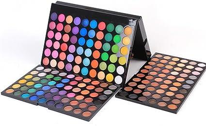 HoJoor Paleta de Sombras de Ojos 180 Colores de Maquillaje Set Kit de alta Calidad Cosmético, Paleta De Sombras De Ojos Profesionales - Juego de Maquillaje Belleza de Regalos de Navidad #2: