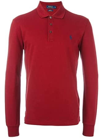 Ralph Lauren Luxury Fashion Hombre A12KFD20BKL78A6625 Rojo Polo ...