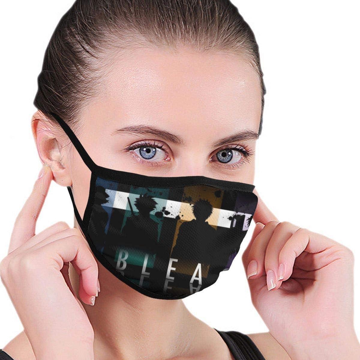 Blea_Ch Ichi_Go Kuros_AKI Decoraciones Faciales Reutilizables Lavables Unisex para Protección Personal