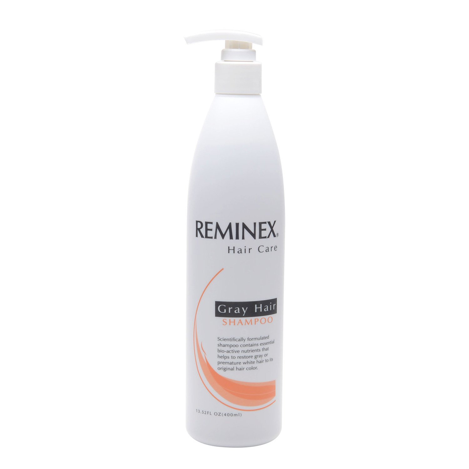 Reminex Hair Care, Gray Hair Shampoo To Help to Restore Gray Hair Back To Its Original Hair Color (Shampoo, 400 mL)