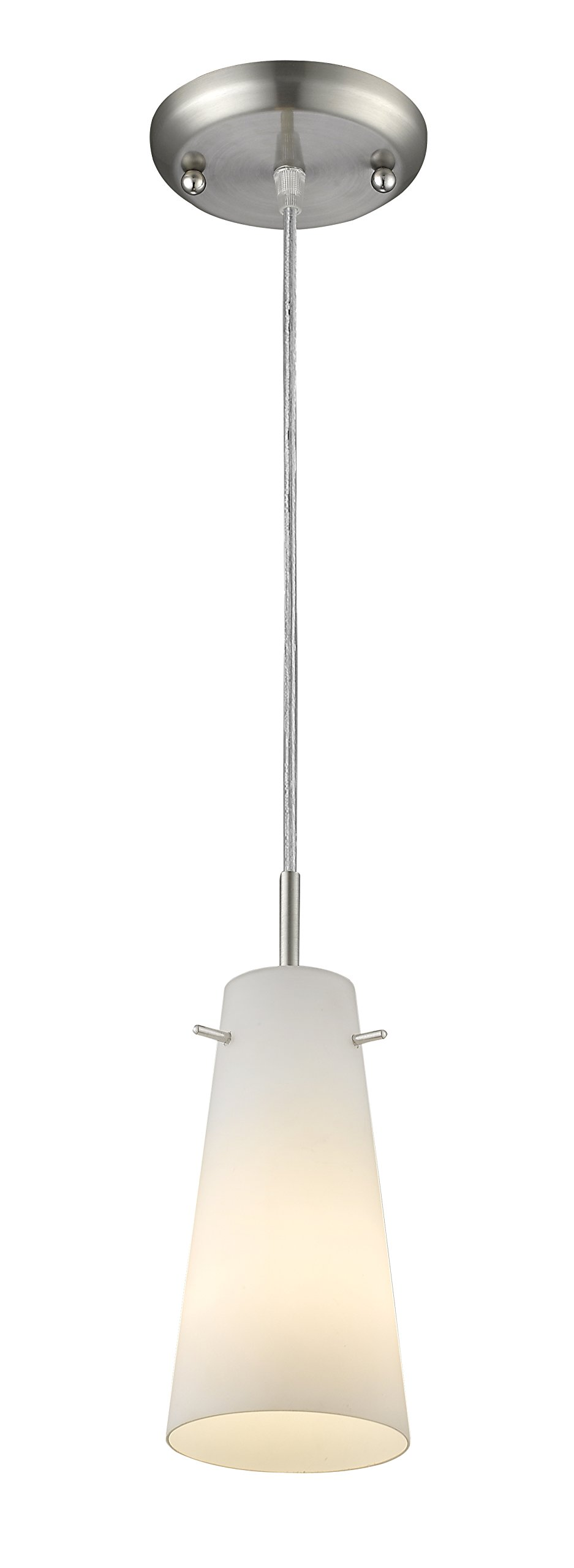 Z-Lite 133MP-BN 1 Light Mini Pendant 1 by Z-Lite (Image #1)