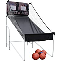 BestValue Go Foldable Double Arcade Electronic Basketball Game for 2 Players with LED Scoring System