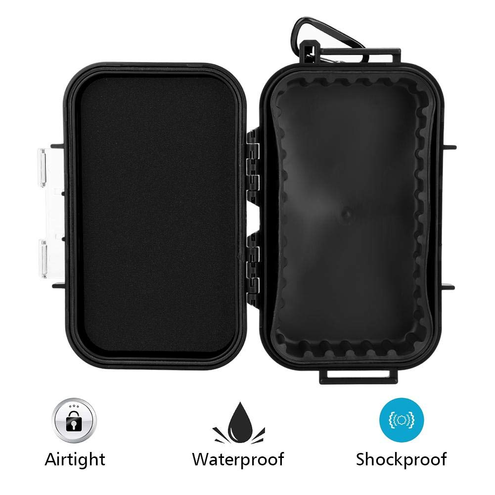 Tool Sets Cheap Sale Outdoor Shockproof Waterproof Boxes Survival Airtight Case Holder For Storage Matches Small Tools Edc Travel Sealed Containers To Rank First Among Similar Products