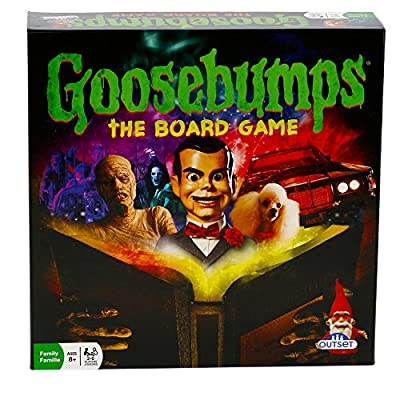 Goosebumps Movie Game - Thrilling Family Board Game - Battle Each Other In A Frantic Race To The Typewriter/End (Ages 8+): Toys & Games
