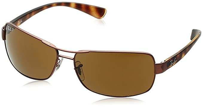 9cf857872 Image Unavailable. Image not available for. Colour: Ray-Ban Rectangular  Sunglasses ...