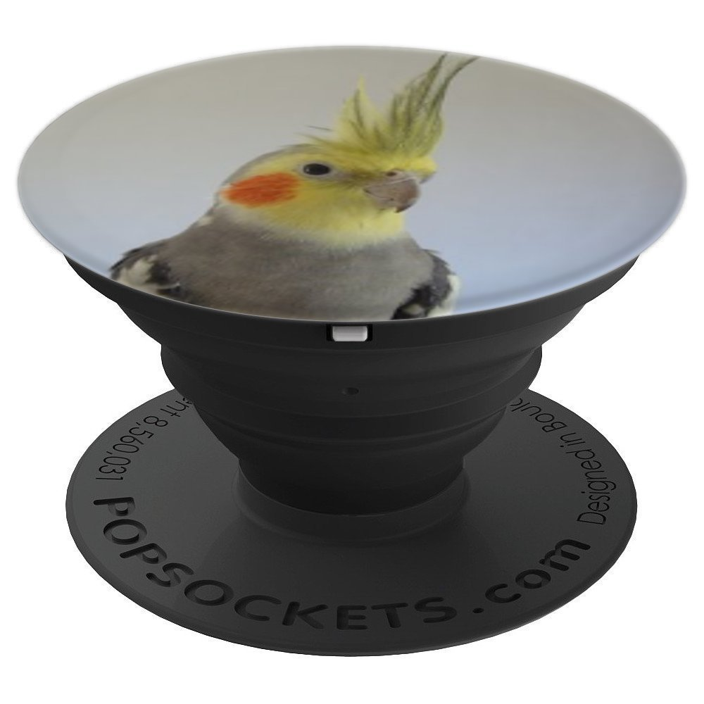 Cockatiel Bird - PopSockets Grip and Stand for Phones and Tablets