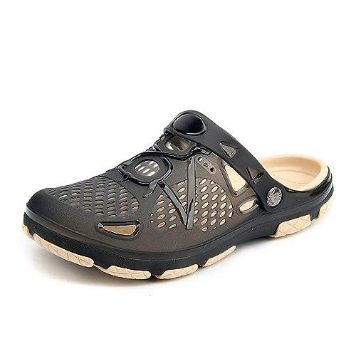 Zuecos Transpirables para el Jardín Unisex Zapatillas para Caminar al Aire Libre Sandalias Antideslizantes para la
