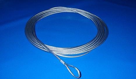 Cable de Acero Trenzado Galvanizado y Plastificado para Tensar la ...