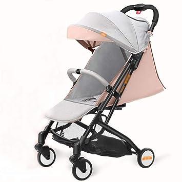 MAOSF Sillas de paseo El carrito para bebés es ultraligero ...