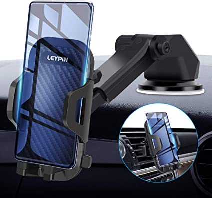 PLDHPRO Windshield//Dash//Dashboard//Stick On Car 3-in-1 Universal Cradle,for iPhone Samsung Sony Google All 4-6.4 Smartphones GPS Mobile for iPhone Samsung Sony Google All 4-6.4 Smartphones GPS Mobile 4351495645 Car Phone Holder Mount