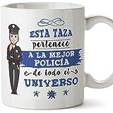 MUGFFINS policía. Tazas Originales de café y Desayuno para Regalar a  Trabajadores Profesionales - Esta fd7da9c73e4d8