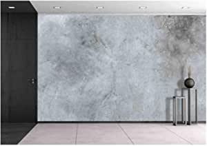 Wall26 Old Cracked Cement Wall Texture Background Removable Wall Mural Self Adhesive Large Wallpaper 100x144 Inches Amazon Com