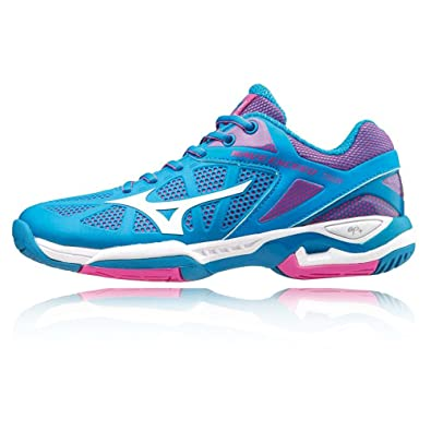 Womens Wave Exceed Tour Ac WOS Tennis Shoes, Purple Mizuno
