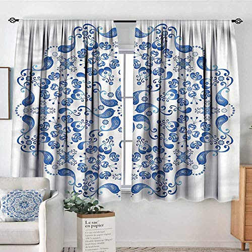 (Sanring Mandala,Kitchen Curtains Ottoman Culture Elements 42