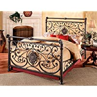 Hillsdale Mercer Bed Set - Cal King - w/Rails