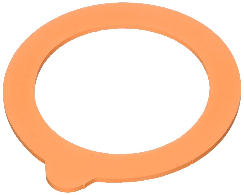 Hutchinson Bolsa DE 10 Arandelas universales con Nariz de Goma Naranja Dia 85 para terrinas 350g o tarros 1 / 2L-3 / 4L-1L-1, 5L-2L 409367