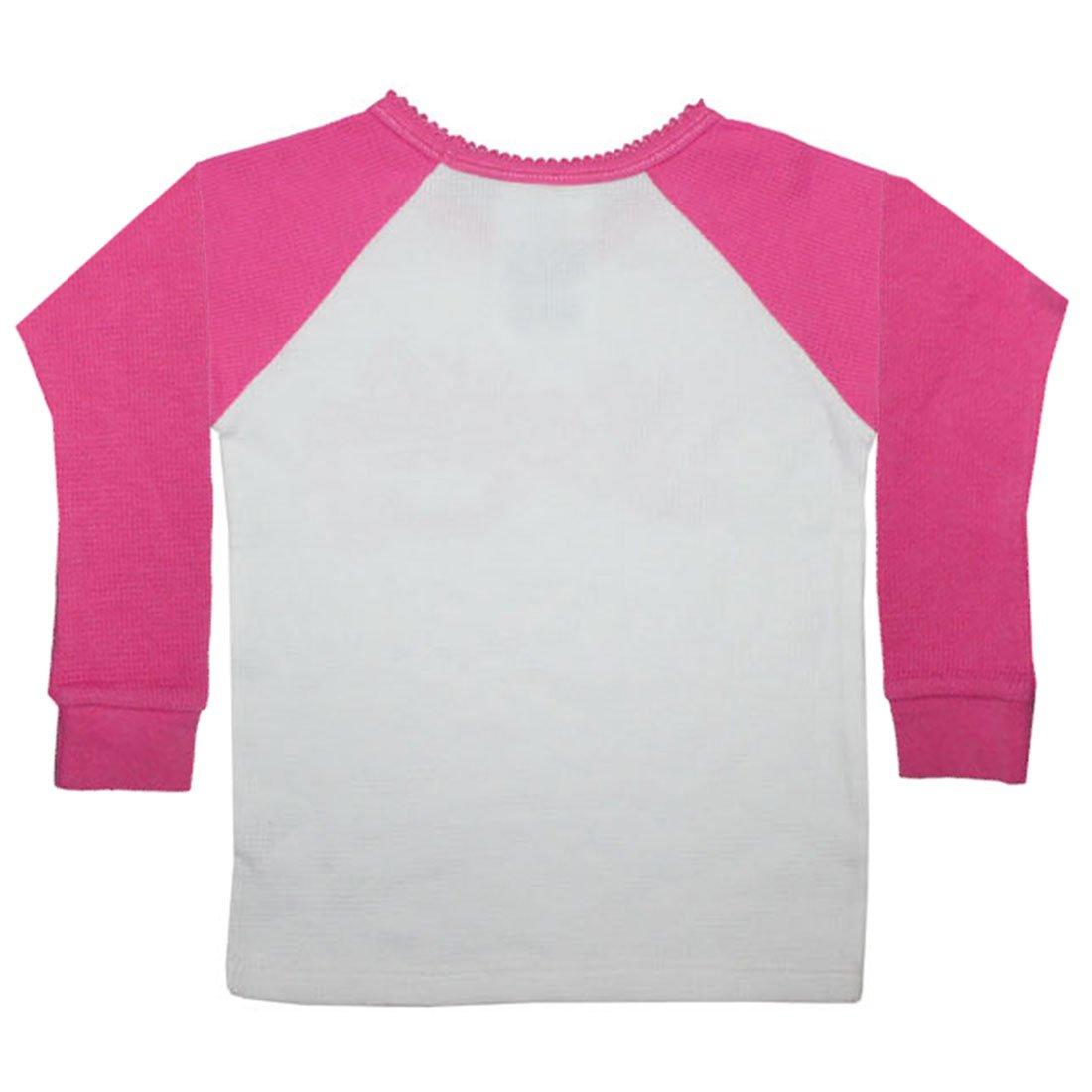 NO SAINTS Infant Girls Crew-Neck Long Sleeve T Shirt