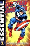 img - for Essential Captain America, Vol. 1 (Marvel Essentials) (v. 1) book / textbook / text book