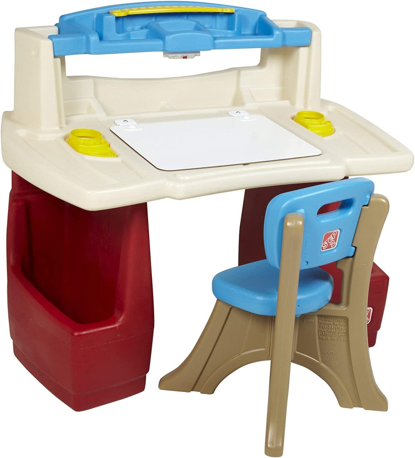 Step2 Deluxe Art Master Kids Desk | Assembles in Minutes