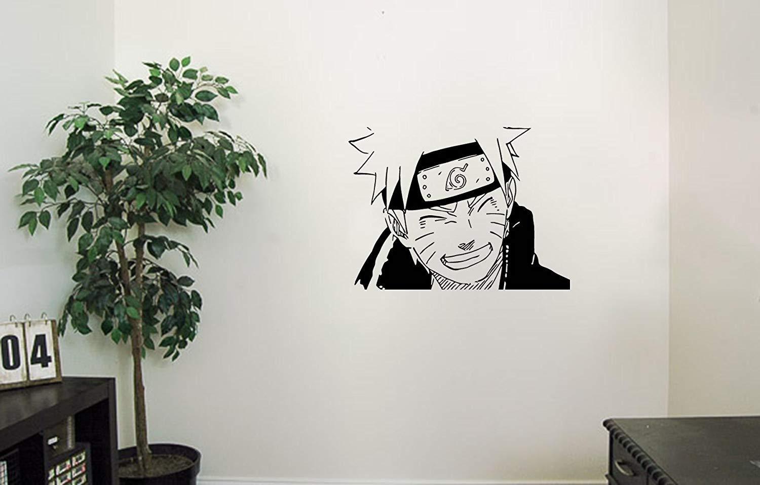 Amazon.com: Uzumaki Naruto Vinyl Wall Decals Smiling Ninja ...