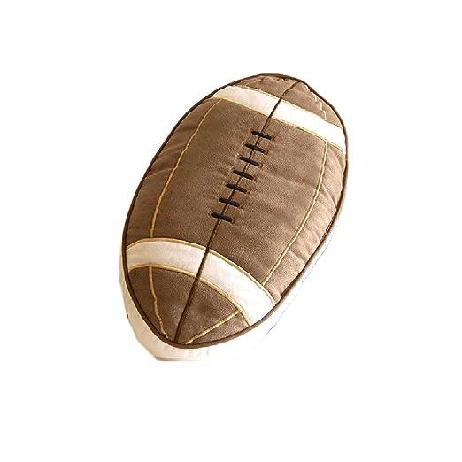 KAYLEY - Cojín ovalado con forma de rugby para el hogar y la ...