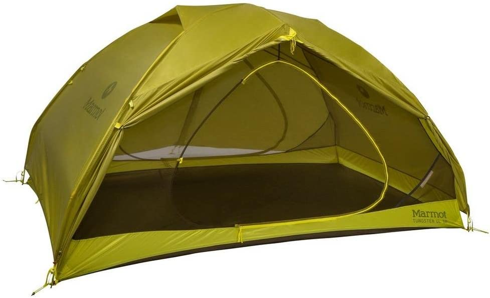 Marmot Tungsten UL camping tent Dark Citron//Citronelle ultralight tent trekking tent absolutely waterproof