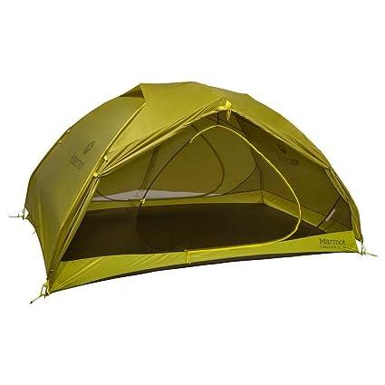 0ad006849e4 Marmot Tungsten UL 3 Person Backpacking Tent Dark Citron Citronelle